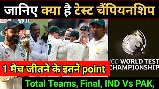ICC World Test Championship: 5 key Points to know, Must Watch