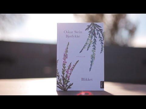 """Oskar Stein Bjørlykke les frå novellesamlinga """"Blikket"""""""