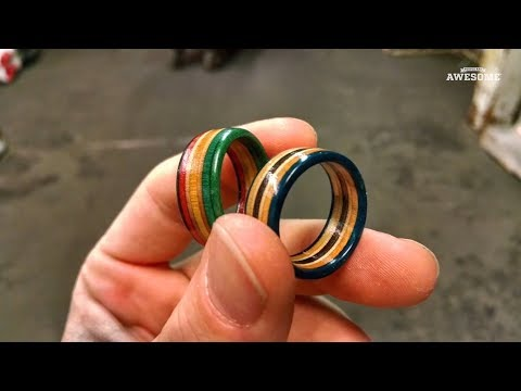 Recycling Skateboards into Tools, Jewelry & Bottles! - UCIJ0lLcABPdYGp7pRMGccAQ