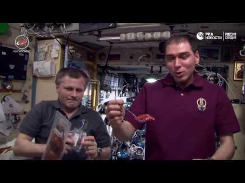 Рацион космонавтов на МКС