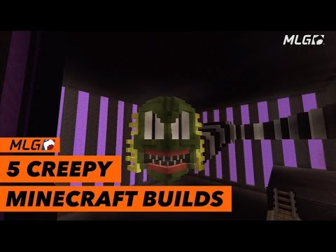 Top 5 Creepy Minecraft Builds!