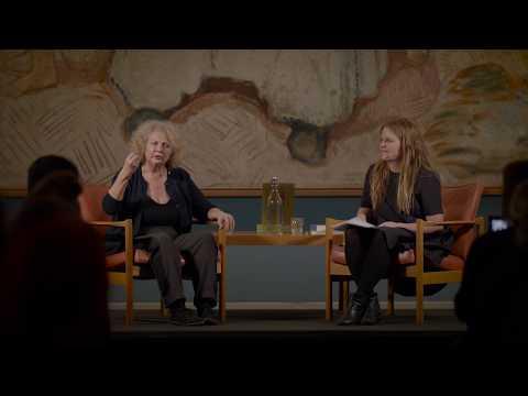 Marlene Dumas at the Munch Museum - artist talk