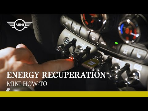 Energy Recuperation | MINI How-To