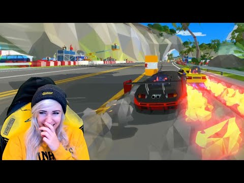 playing hotshot racing WITH SUBSCRIBERS :D
