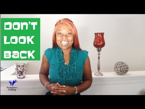 WEDNESDAY WORD - Don't Look Back!
