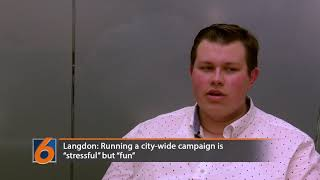 Candidate Jordan Langdon discusses goals for the city and his campaign so far in the Auburn mayoral election.