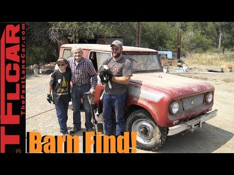 Bringing a Decades Old Barn Find Back to Life: Getting Lucky (Part 1 of 2)