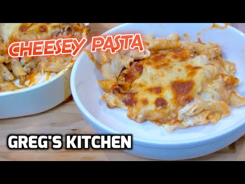 SUPER CHEESY PASTA BAKE ZITI - Greg's Kitchen - UCGXHiIMcPZ9IQNwmJOv12dQ