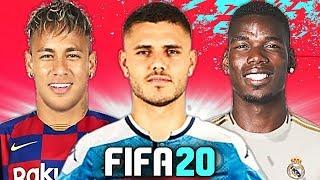 SUPER NAPOLI con ICARDI & LOZANO! 🔥 TOP 10 TRASFERIMENTI FIFA 20 - ESTATE 2019 | Balotelli, Pogba