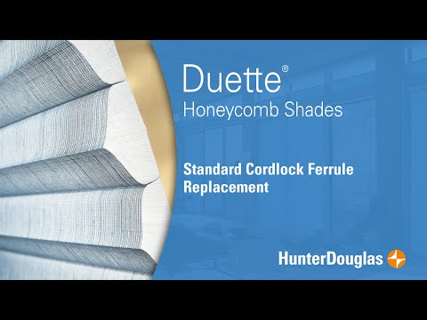 Duette® Honeycomb Shades - Standard Cord lock Ferrule Replacement - Hunter Douglas
