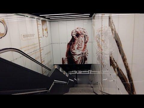 Alla scoperta della stazione-museo di San Giovanni metro C