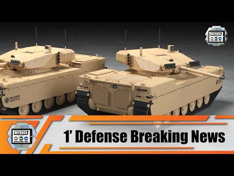 Milrem Robotics rolls out new Type-X RCV combat vehicle 1' Defense Breaking News