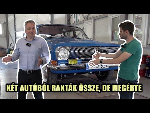 Egyik fele halottas kocsi, a másik tejes autó – Ilyen Volgát még nem láttál!