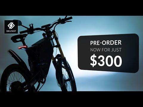 Pre-order an innovative Delfast e-bike now