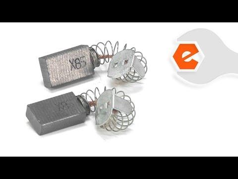 Skilsaw Repair - Replacing the Carbon Motor Brushes (Skil Part # 1619X08020)