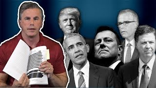 Tom Fitton: Classifying Documents about Anti-Trump Targeting PROTECTS Obama Admin's Misconduct