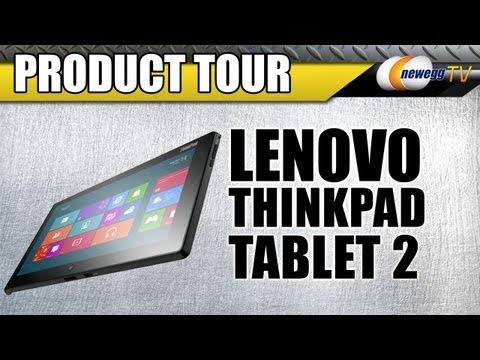 Newegg TV: Lenovo ThinkPad Tablet 2 Product Tour - UCJ1rSlahM7TYWGxEscL0g7Q