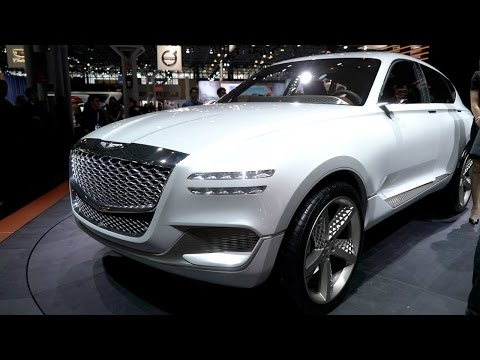 Genesis GV80 Concept - 2017 New York Auto Show