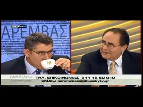 Γ. Κουτουλάκης με τον 'Ακη Παυλόπουλο / 23-10-2018