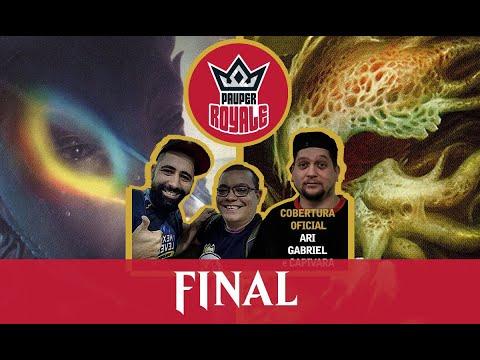 Mono-Green Stompy VS Jeskai Affinity - Pauper Royale Grand Finale - Final
