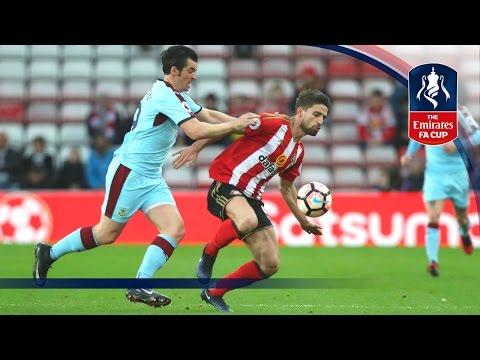 Sunderland 0-0 Burnley - Emirates FA Cup 2016/17 (R3) | Goals & Highlights