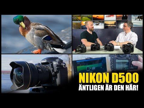Nikon D500 - Johannes & Mats snackar!
