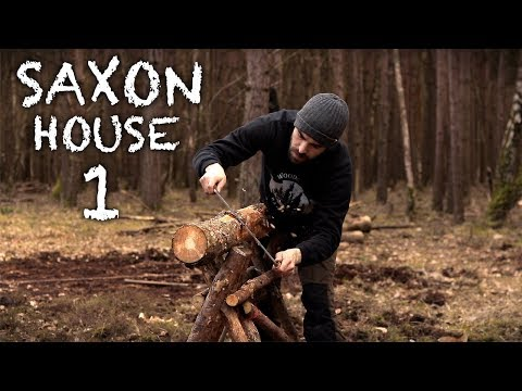 Building a Saxon House with Hand Tools: A Bushcraft Project (PART 1)