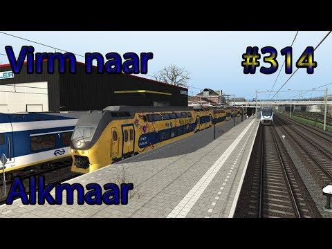 Met de Virmm naar Alkmaar - Train Simulator 2017 #314