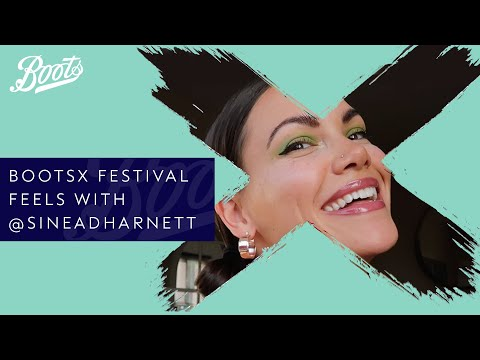 boots.com & Boots Discount Code video: Make-up Tutorial | 🎶Festival Feels🎶 with @sineadharnett | BootsX | Boots UK