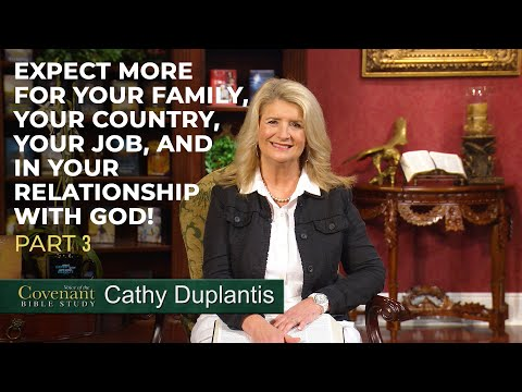 Voice of the Covenant Bible Study, August 2020 Week 3  Cathy Duplantis