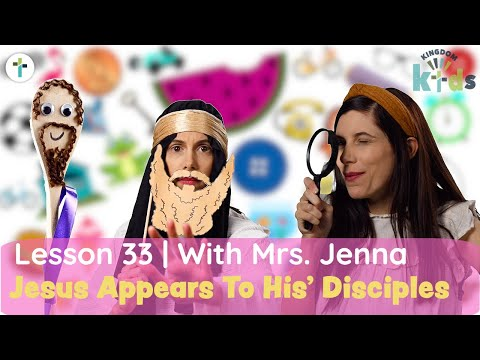 Jesus Appears To His' Disciples  Sojourn Kingdom Kid's  Sunday Morning Lesson  Sojourn Church