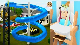 The Super Rich Life ! Adopt Me Family Luxury Mansions - Roblox Game Video