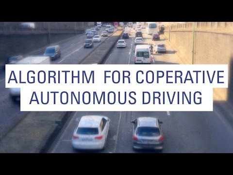 Algorithm for autonomous Driving - AUTONET 2030