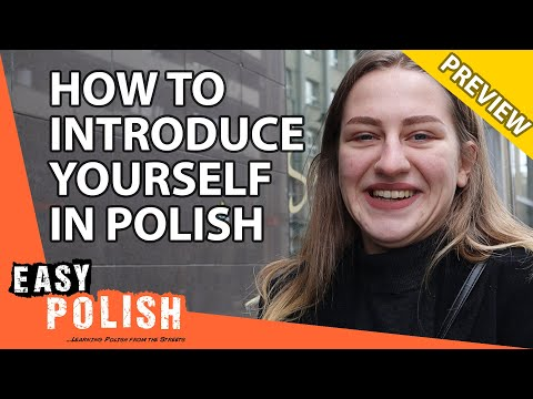 How to introduce yourself in Polish (PREVIEW) | Super Easy Polish 12 photo