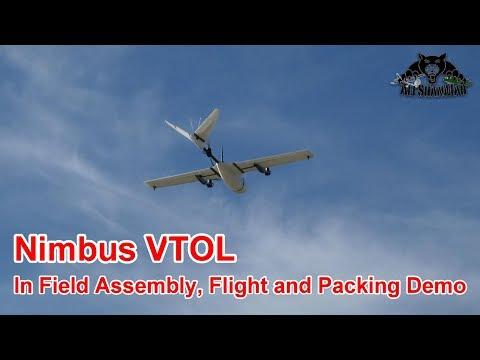 Nimbus VTOL Quick Assembly Deployment Flight Packing Demo - UCsFctXdFnbeoKpLefdEloEQ