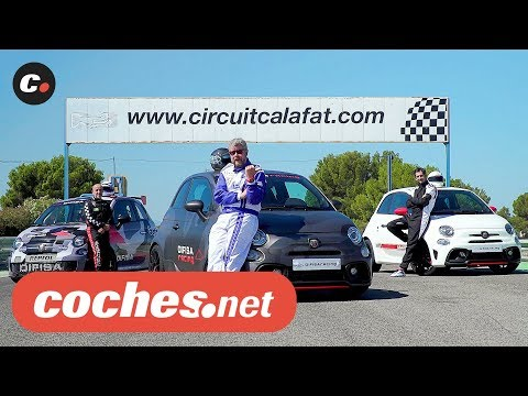 Abarth 595 Competizione vs 595 SC vs 500 Assetto Corse | Prueba Comparativa / Review | coches.net