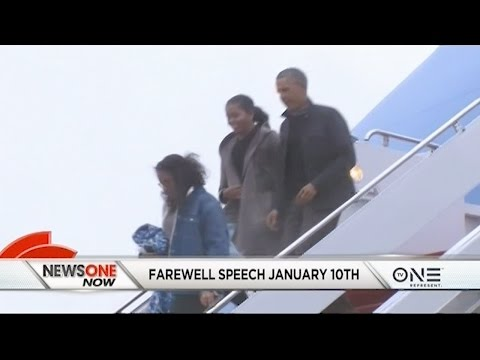 President Obama Plans Farewell Speech From Chicago