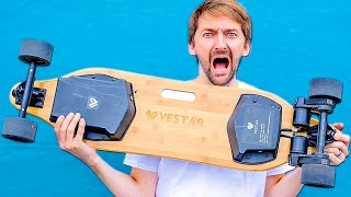 THE WORLD'S FASTEST ELECTRIC SKATEBOARD?!?!