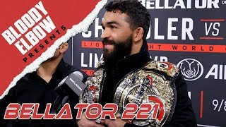 Patricio Pitbull Doesn't Think Stoppage Was Controversial: Chandler 'Kissed the floor' - BE PRESENTS