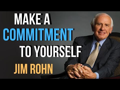 Make a Commitment to Yourself - John Rohn Motivation