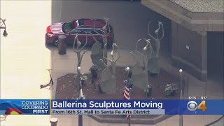 Giant Ballerina Statues Moving From 16th Street Mall