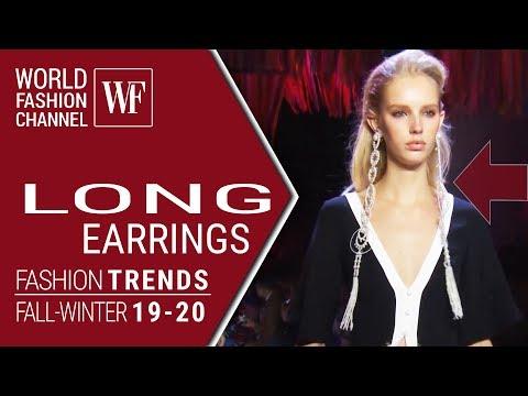 LONG EARRINGS | FASHION TRENDS FALL-WINTER 19-20