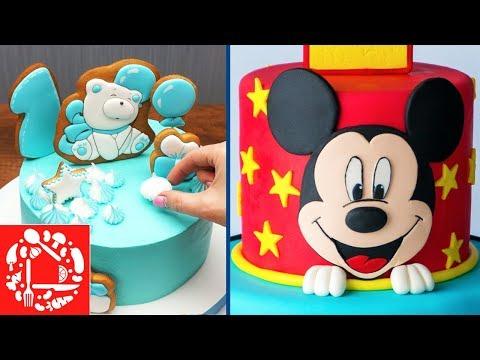 Топ 5 украшений Торта для Мальчика! Как красиво украсить торт в домашних условиях photo