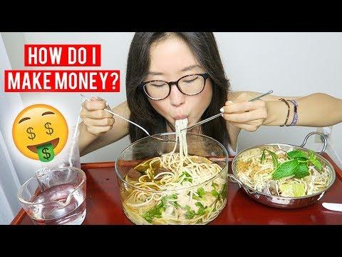 Bun Bo Hue  ► Spicy Vietnamese Noodles MUKBANG