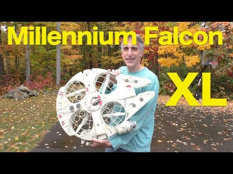 Air Hogs Star Wars Millennium Falcon XL Drone REVIEW - UCG20rXlEUWfFI1p2B5n3akg