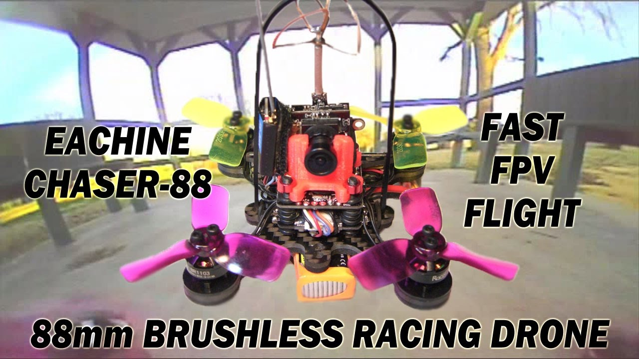 Eachine Chasser 88 Nano Racing Drone Flight Test: Fast FPV