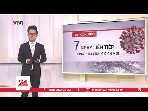 TP Hồ Chí Minh 7 ngày liên tiếp không phát sinh ổ dịch mới | VTV24
