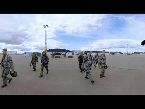 Försvarsmakten i 360 VR - David Helikopterflottiljen