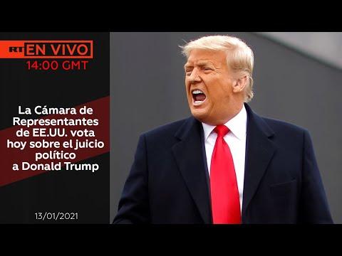 La Cámara de Representantes de EE.UU. vota sobre el juicio político a Trump – NOTICIERO 13/01/2021