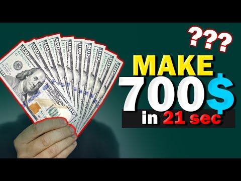 700$ in 21sec ? (NOT A CLICKBAIT)